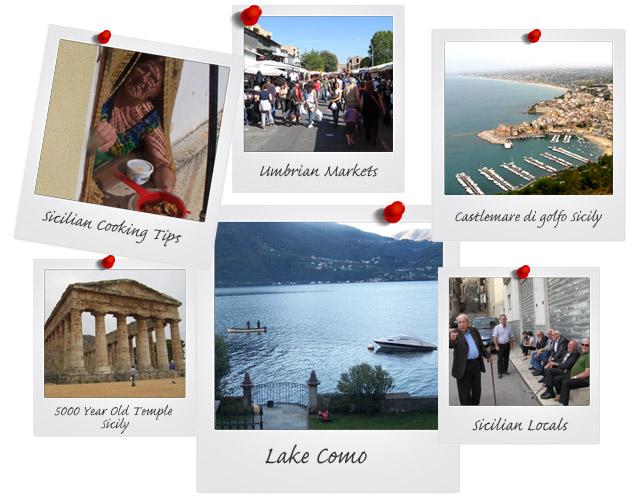 Montage of Italian Tour