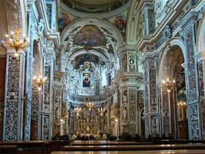 Glory of St Luke Ignazio Marabitti